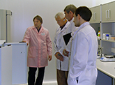 "Colleagues from ""Farm Frites"" Company (Netherlands) examined work of ""PhytoEngineering"" R&D Centre"